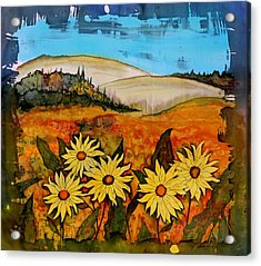 Prairie Wildflowers Acrylic Print