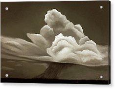 Prairy Storm IIi Acrylic Print by Garry McMichael