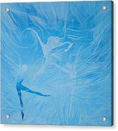 Praise The Lord Dance Acrylic Print by Susan Harris