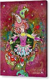 Pranceitude Acrylic Print by Aimee Stewart