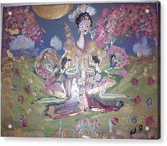 Pray For Japan Acrylic Print by Judith Desrosiers