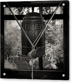 Acrylic Print featuring the photograph Prayer Bell by Darryl Dalton