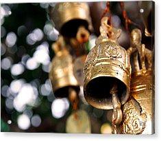 Prayer Bells Acrylic Print by Kaleidoscopik Photography