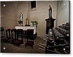 Prayer Chapel Acrylic Print by Andy Crawford