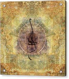 Prayer Flag 28 Acrylic Print by Carol Leigh