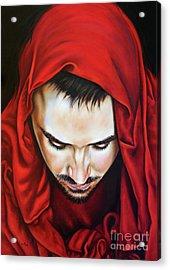 Prayer Of Jeshua Acrylic Print by Ilse Kleyn