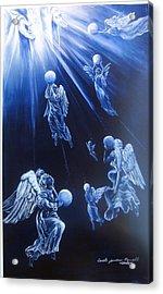 Prayers Ascent Acrylic Print by Carole Powell