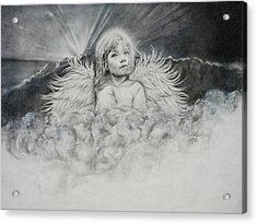 Prayers To An Angel Acrylic Print