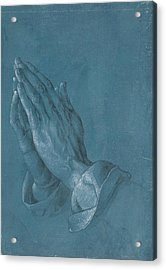 Praying Hands Acrylic Print by Albrecht Durer