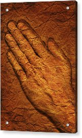 Praying Hands Acrylic Print by Don Hammond