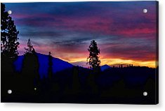 Acrylic Print featuring the photograph Pre-dawn Hues by Julia Hassett