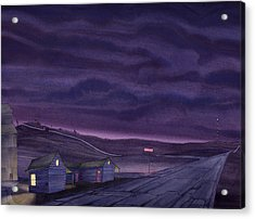 Pre-dawn On The Hi-line Vi Acrylic Print