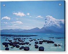 Precambrian Stromatolites Acrylic Print by Chase Studio