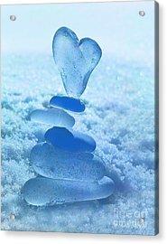 Precarious Heart Acrylic Print