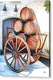 Precious Cargo Acrylic Print by Samuel Sheats