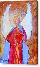 Precious Heart Angel Acrylic Print