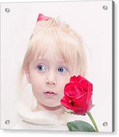 Precious Porcelain Princess Acrylic Print