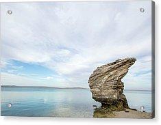 Preekstoel Rock Formation Acrylic Print by Peter Chadwick