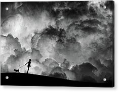 Prelude To The Dream Acrylic Print by Hengki Lee