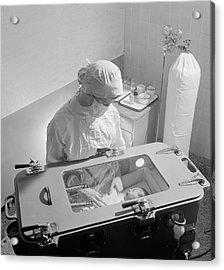 Premature Baby Unit Acrylic Print