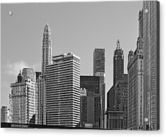Premier Destination Chicago Acrylic Print by Christine Till