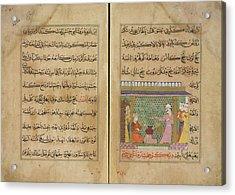 Preparation Of Medicines Acrylic Print by British Library