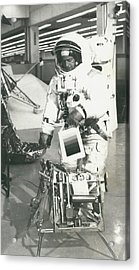 Preparing For Apollo 12 Lunar Mission Acrylic Print by Retro Images Archive