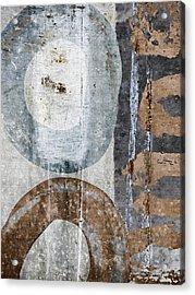 Silken Circles 1 Acrylic Print