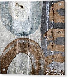 Silken Circles 3 Acrylic Print