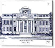 Presbyterian College Acrylic Print