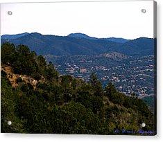 Prescott Mountainsides Acrylic Print