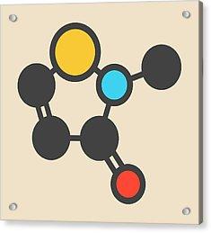 Preservative Molecule Acrylic Print by Molekuul