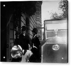 President Calvin Coolidge Front Left Acrylic Print by Everett