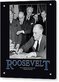 President Franklin D. Roosevelt Acrylic Print