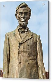 President Lincoln Statue Acrylic Print