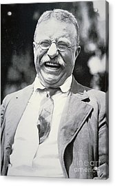 President Theodore Roosevelt Acrylic Print by American Photographer