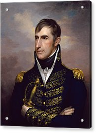 President William Henry Harrison Acrylic Print by War Is Hell Store