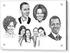 Presidential Acrylic Print by Murphy Elliott