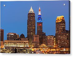 President's Day In Cleveland 2014 2 Acrylic Print