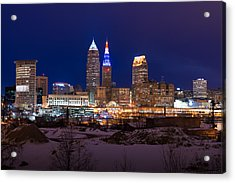 President's Day In Cleveland 2014 Acrylic Print