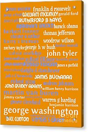 Presidents Of The United States 20130625p168 Acrylic Print by Wingsdomain Art and Photography