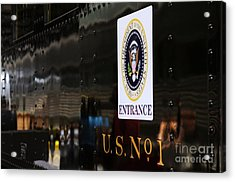 President's Train  Acrylic Print by Andres LaBrada