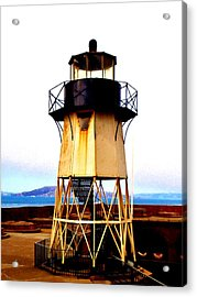 Presidio Lighthouse Acrylic Print by Sharon Costa