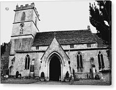 Prestbury Church Acrylic Print by Gemma Shipley