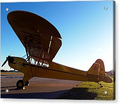 Preston Aviation Piper Cub 003 Acrylic Print