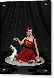 Pretty Birds Acrylic Print
