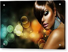 Pretty Brown Sugar Acrylic Print