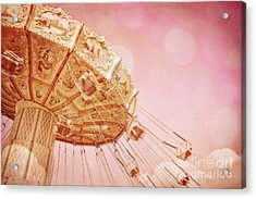 Carnival - Pretty In Pink Acrylic Print by Colleen Kammerer