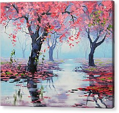 Pretty In Pink Acrylic Print by Graham Gercken