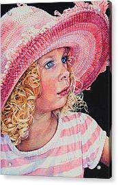 Pretty In Pink Acrylic Print by Hanne Lore Koehler